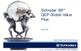 Schroder ISF QEP Global Value Plus