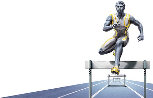 Schroders asset management hurdler man image