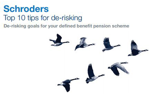 Schroders Top Tips for De-Risking image