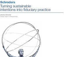 Turning sustainable intentions into fiduciary practice