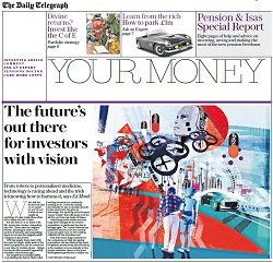 The Telegraph provides insights as to how investors can latch on to the latest 'super trends'