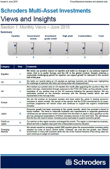 Schroders mutli asset insights page 1 screenshot