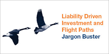 Liability driven investment and flight paths jargon buster