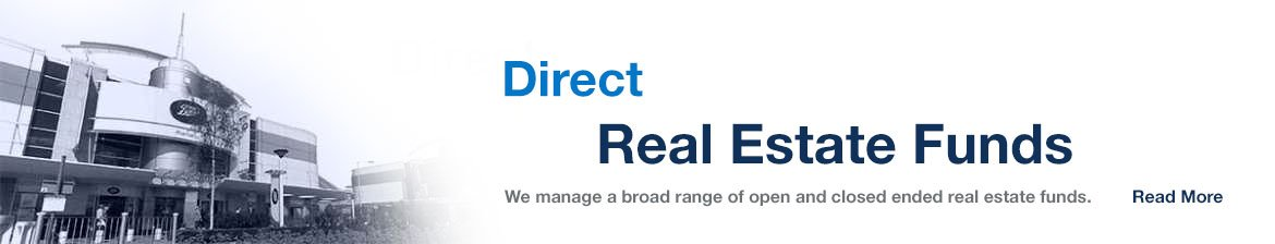 Direct property funds