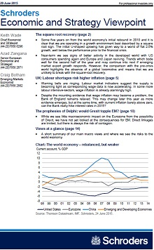 Schroders economic and strategy viewpoint screenshot page 1