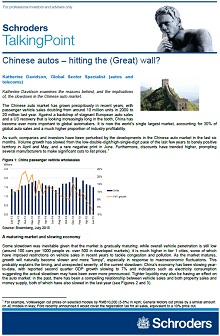 Chinese auto - hitting the wall page 1